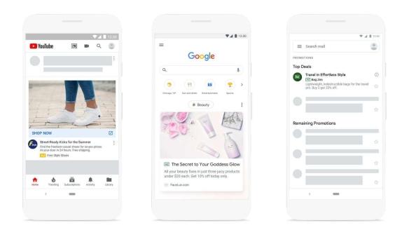 Google lança novas ferramentas para consumidores e marcas